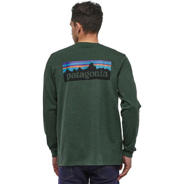 Patagonia P-6 Logo Responsibili-Tee Longsleeve Shirt Herr alder green
