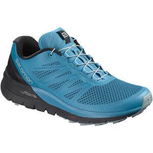 Salomon Sense Pro Max Shoes Herr fjord blue/black/lead fjord blue/black/lead