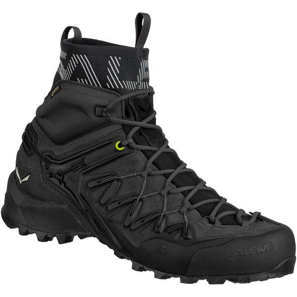 SALEWA Wildfire Edge GTX Mid Shoes Herr black/black