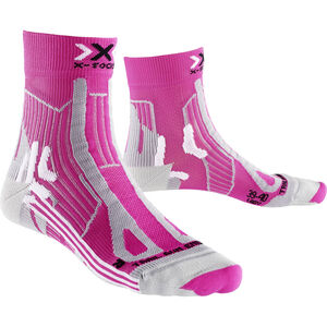 X-Socks Trail Run Energy Socks Dam pink/pearl grey pink/pearl grey