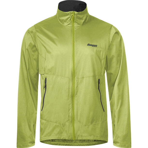 Bergans Fløyen Jacket Herr sprout green/solid dark grey
