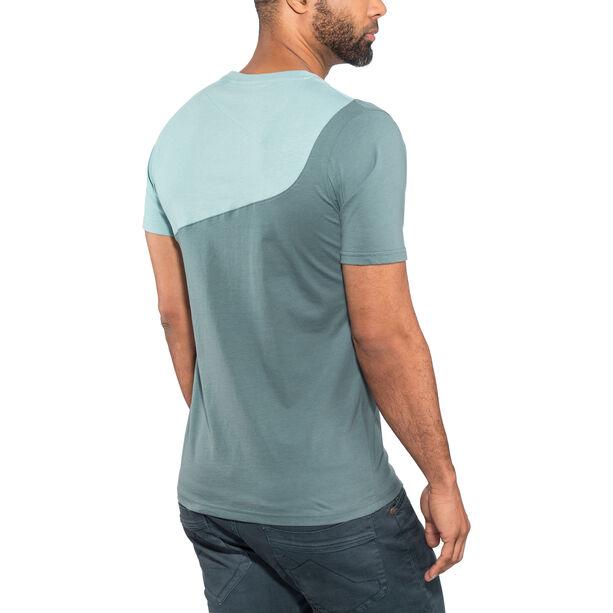 La Sportiva Climbique T-shirt Herr slate/stone blue
