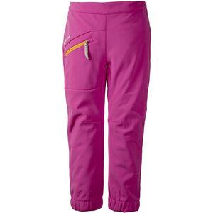 Didriksons 1913 Juvel Softshell Pants Flickor plastic pink plastic pink