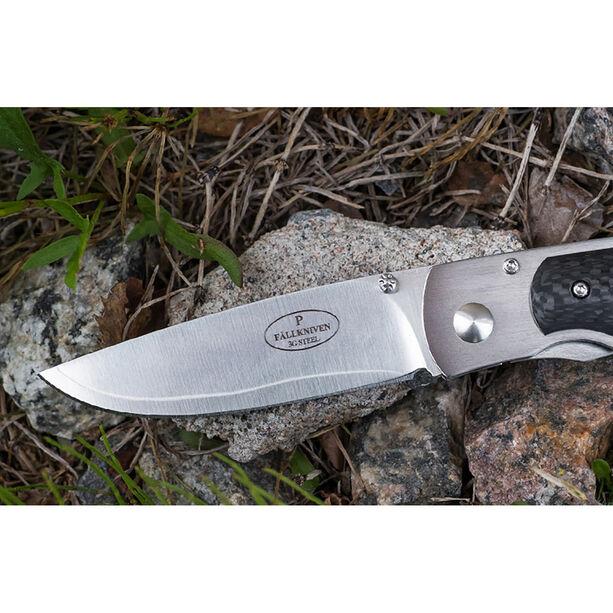 Fällkniven P3 Bladskniv med kolfiber handtag none
