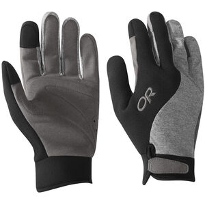Outdoor Research Upsurge Paddle Gloves black/charcoal heather black/charcoal heather