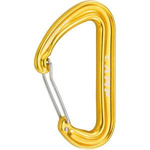 Camp Photon Wire Carabiner yellow