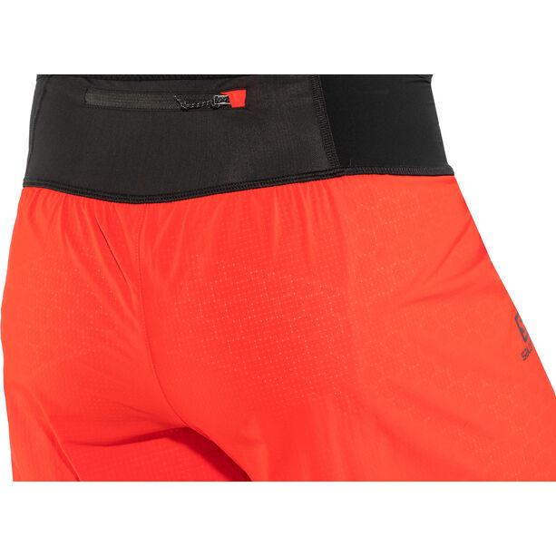 Salomon Exo Twinskin Shorts Herr fiery red/white