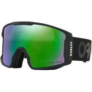 Oakley Line Miner Snow Goggles Herr Factory Pilot Matte Black W/ Prizm Jade Iridium Factory Pilot Matte Black W/ Prizm Jade Iridium