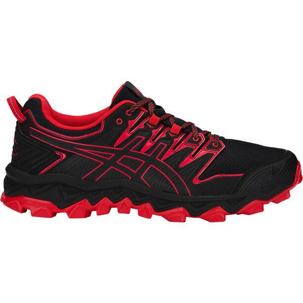 asics Gel-FujiTrabuco 7 Shoes Herr black/classic red