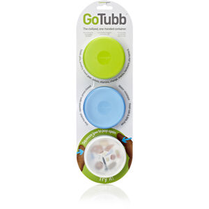 humangear GoTubb Medium Travel Accessorie 3-Pack clear/green/blue clear/green/blue