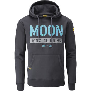 Moon Climbing One Five Nine Hoody Herr ebony ebony