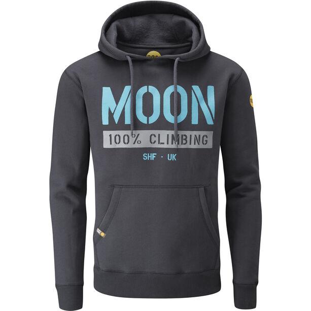 Moon Climbing One Five Nine Hoody Herr ebony