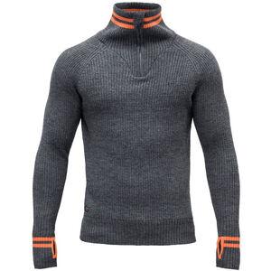Devold Varde Zip Neck Sweater Herr subsea subsea