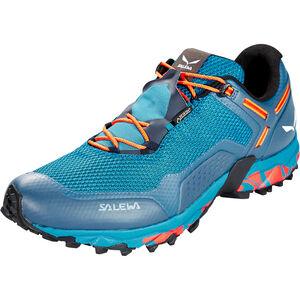 SALEWA Speed Beat GTX Shoes Herr premium navy/spicy orange premium navy/spicy orange