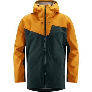 Haglöfs Stipe Jacket Herr Mineral/Desert Yellow Mineral/Desert Yellow