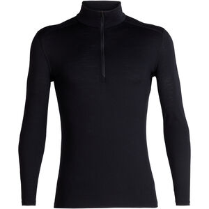 Icebreaker 200 Oasis LS Half Zip Shirt Herr black black