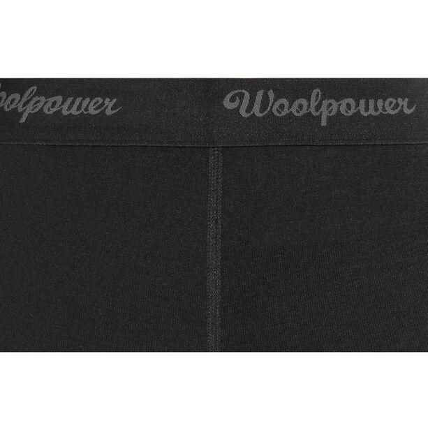 Woolpower Lite 3/4 Long Johns Dam black