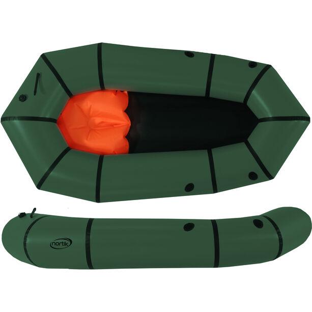 nortik Light-Raft dark green/black
