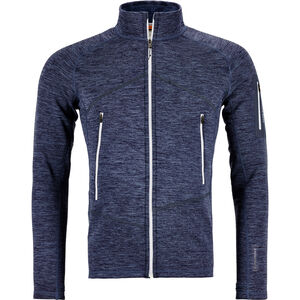 Ortovox Fleece Light Melange Jacket Herr night blue night blue