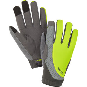 Hestra Apex Reflective Long Finger Gloves yellow hi-viz yellow hi-viz