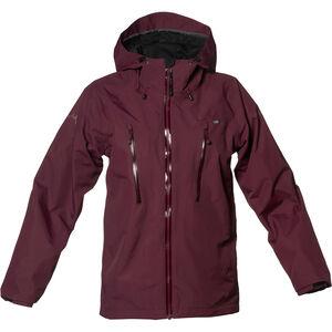 Isbjörn Monsune Hard Shell Jacket Ungdomar bordeaux