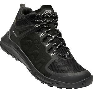 Keen Explr WP Mid Shoes Dam Black/Star White Black/Star White