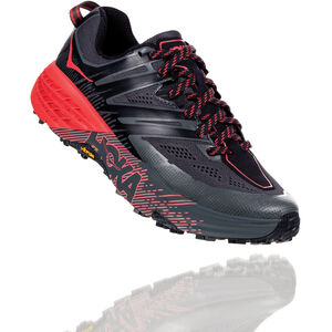 Hoka One One Speedgoat 3 Running Shoes Dam dark shadow/poppy red dark shadow/poppy red