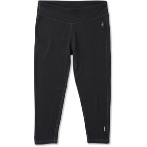 Smartwool Merino 250 Baselayer 3/4 Bottom Dam Black Black