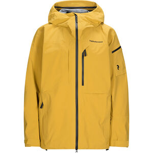 Peak Performance Alpine Jacket Herr Smudge Yellow Smudge Yellow