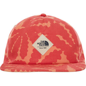 The North Face Juniper Crushable Cap spiced coral beavertail floral print spiced coral beavertail floral print