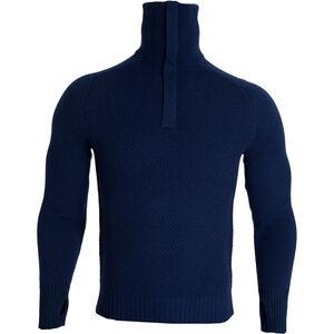 Tufte Wear Bambull Blend Half-Zip Sweater insignia blue melange insignia blue melange