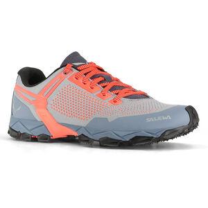 SALEWA Lite Train K Shoes Dam blue fog/fluo coral blue fog/fluo coral
