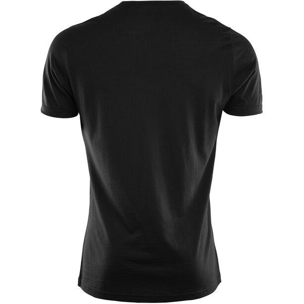 Aclima LightWool T-shirt Herr jet black