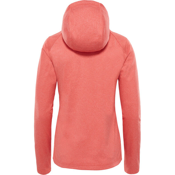 The North Face Tech Mezzaluna Hoodie Dam fire brick red heather