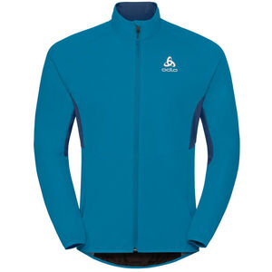 Odlo Aeolus Element Warm Jacket Herr blue jewel-poseidon blue jewel-poseidon