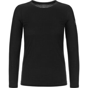 super.natural Base 230 Crew Neck Dam jet black jet black
