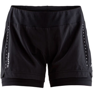 Craft Essential 2-In-1 Shorts Dam black black