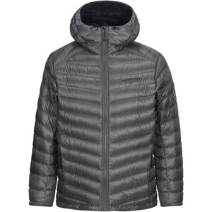Peak Performance Ice Down Hooded Jacket Herr quiet grey quiet grey