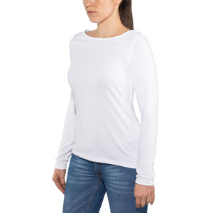 Craghoppers NosiLife Erin Long Sleeved Top Dam optic white optic white