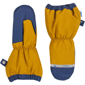 Finkid Pakkanen Outdoor Mittens with Snowcuff Barn harvest gold/denim harvest gold/denim