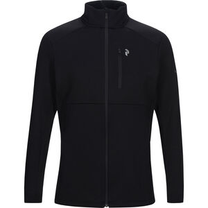 Peak Performance Helo Mid Zip Jacket Herr black black