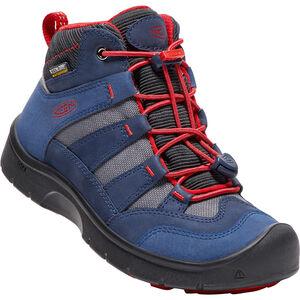 Keen Hikeport WP Mid Shoes Barn dress blues/firey red dress blues/firey red
