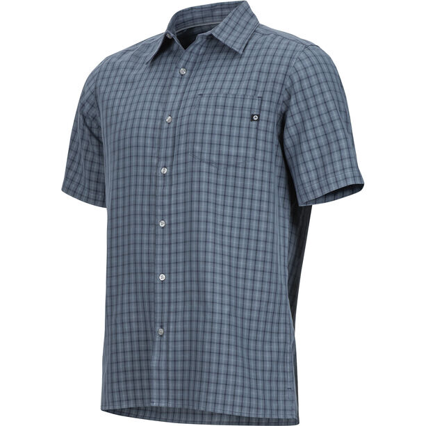 Marmot Eldridge SS Shirt Herr steel onyx