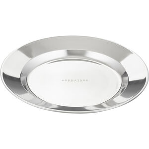 addnature Plate Stainless Steel 24cm silver silver