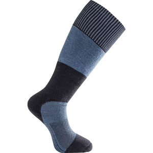 Woolpower Skilled Knee High 400 Socks Dark Navy/Nordic Blue Dark Navy/Nordic Blue