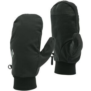 Black Diamond Midweight Softshell Mittens Smoke Smoke