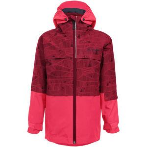 VAUDE Snow Cup 3in1 Jacket All Over Print Barn Crocus Crocus