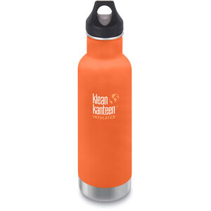 Klean Kanteen Classic Vacuum Insulated Bottle Loop Cap 592ml sierra sunset matt sierra sunset matt