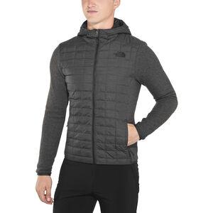 The North Face Thermoball Gordon Lyons Hoodie Jacket Herr tnf black/tnf dark grey heather tnf black/tnf dark grey heather