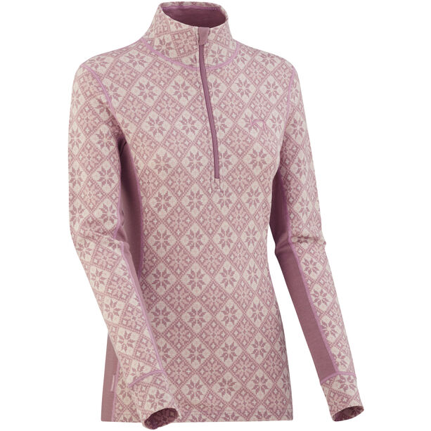 Kari Traa Rose Half-Zip Shirt Dam Petal